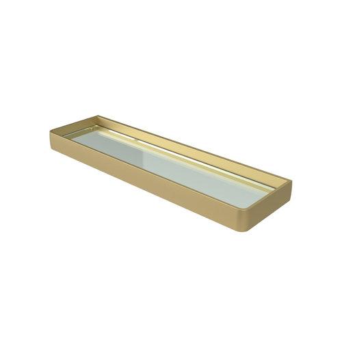Planchet Haceka Aline Gold 46x3,5 cm Aluminium Mat Goud