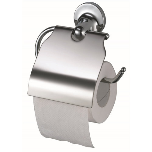Toiletrolhouder Haceka Aspen met Klep Chroom