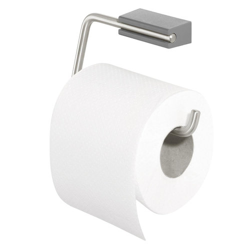 Toiletrolhouder Tiger Cliqit Donkergrijs RVS