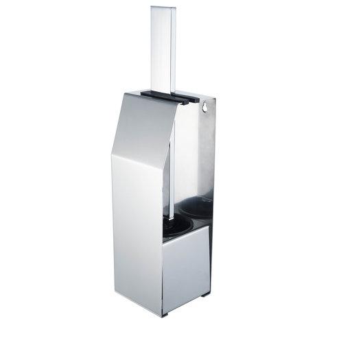 Toiletborstelset Haceka Aqualux PRO5000 Vrijstaand Chroom