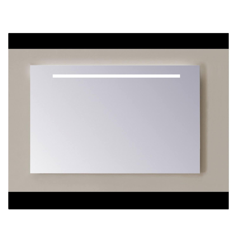 Spiegel Sanicare Q-mirrors Zonder Omlijsting 60 x 65 cm Warm White LED PP Geslepen