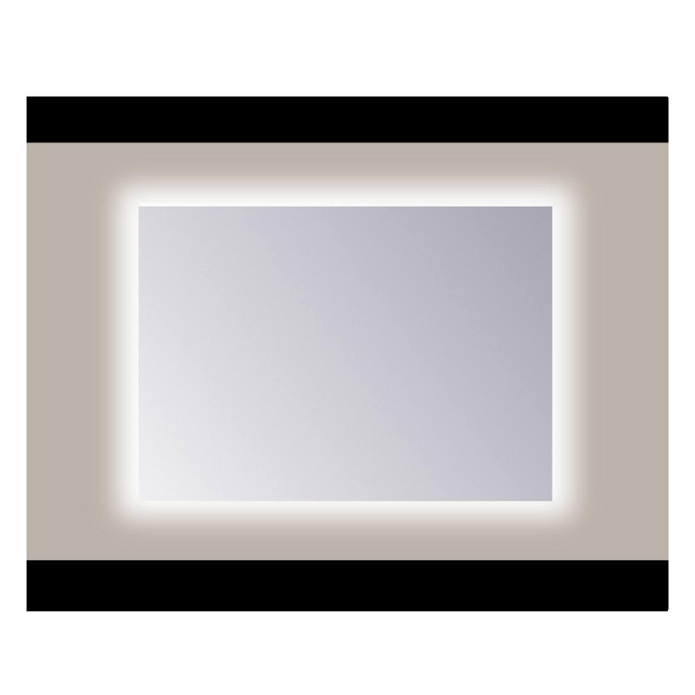 Spiegel Sanicare Q-mirrors Zonder Omlijsting 60 x 75 cm Rondom Warm White LED PP Geslepen