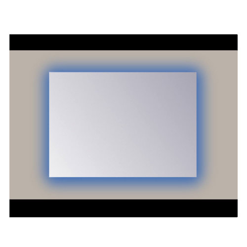 Spiegel Sanicare Q-mirrors 60 x 120 cm Ambiance RGB LED PP Geslepen