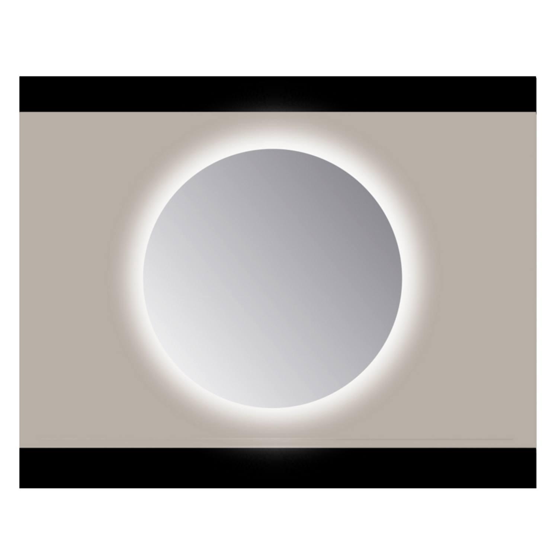 Spiegel Rond Sanicare Q 60 cm Ambi Warm White LED PP Geslepen (Zonder Sensor)