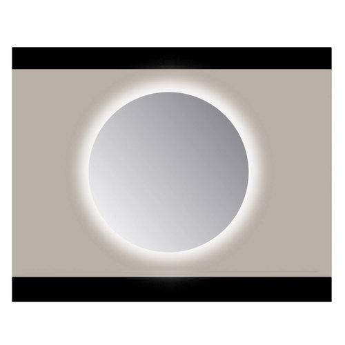 Spiegel Rond Sanicare Q 60 cm Ambi Cold White LED PP Geslepen (Zonder Sensor)