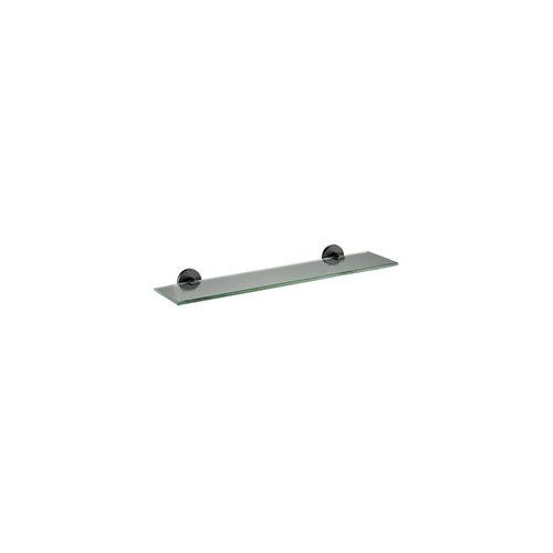 Planchet Plieger Vigo Glas 52x14.5 cm Mat Zwart