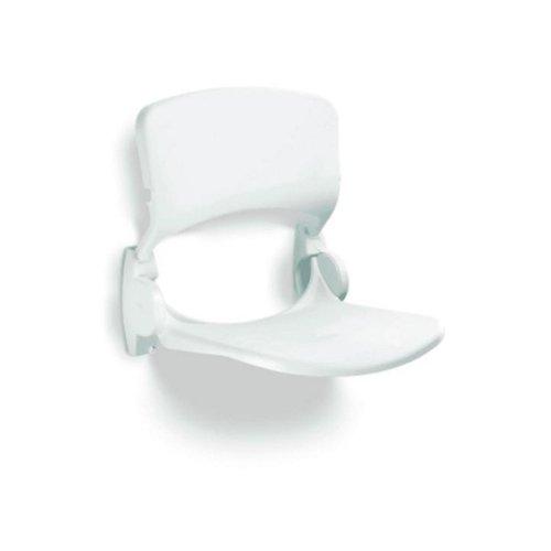 Douchezitting Handicare Linido met Rugleuning Opklapbaar Wit