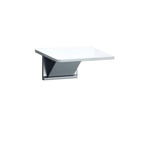 Douchezitting Handicare Linido Aangepast Sanitair 26,5x33 cm Opklapbaar Aluminium Wit