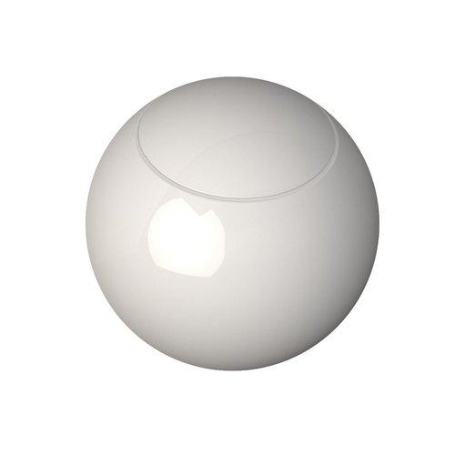 Ronde Toiletpot Isvea Lunna 56x39.7 cm Keramiek Glans Wit PK (incl zitting)