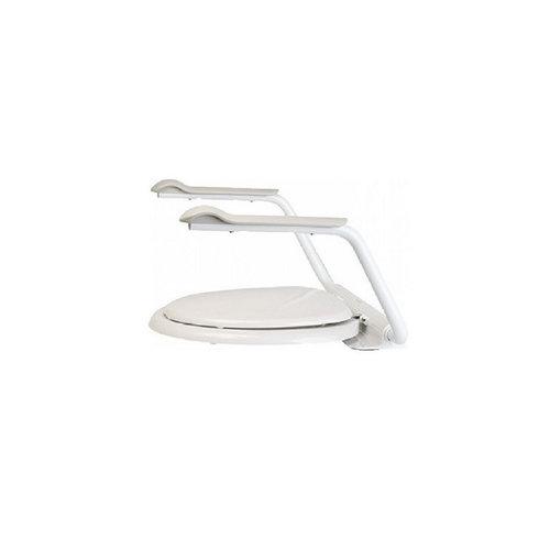 Toiletzitting met Armsteunen Etac Supporter 60x41,5 cm Wit (draagvermogen tot 150 kg)