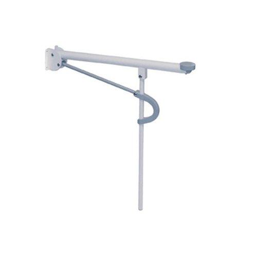 Toiletarmsteun Etac Optima L 73,5x11 cm Wit (draagvermogen tot 150 kg)