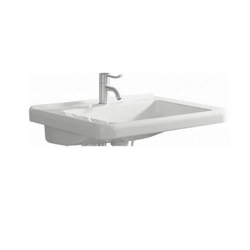 Rolstoelwastafel Sphinx Serie 300 Comfort 55x52,5x15,5 cm Keramiek Wit (met kraangat en overloop)