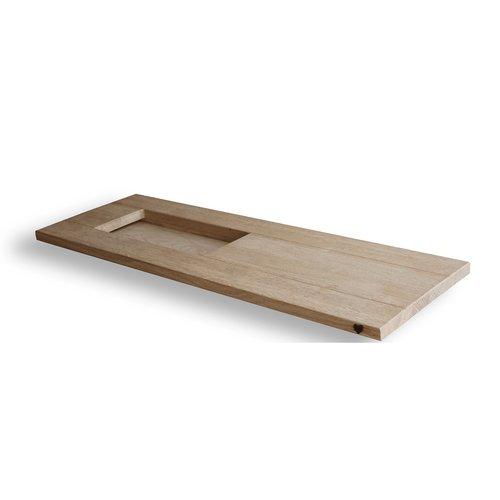 VT Wonen Bad Board badplank 78 cm Blank Eiken