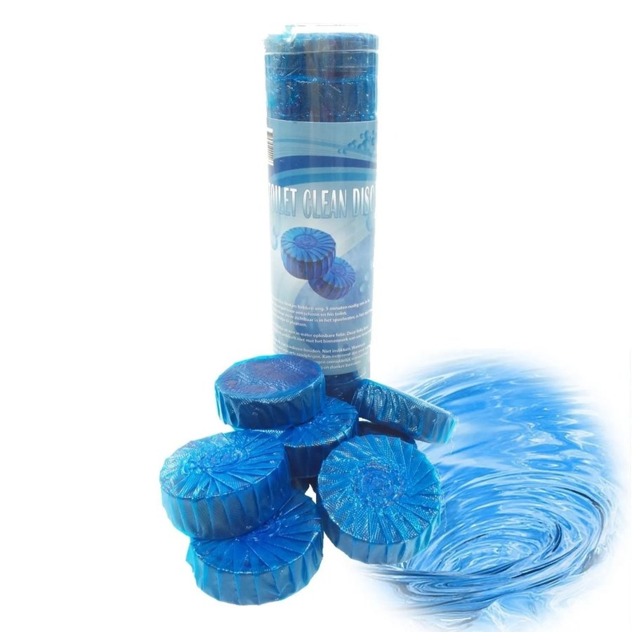 Toiletblokjes Nexxt Pure Blauw (12 stuks) Goedkoopste van NL!