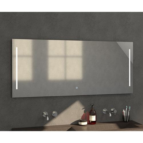Badkamerspiegel met LED Verlichting Sanitop Deline 160x70x3 cm