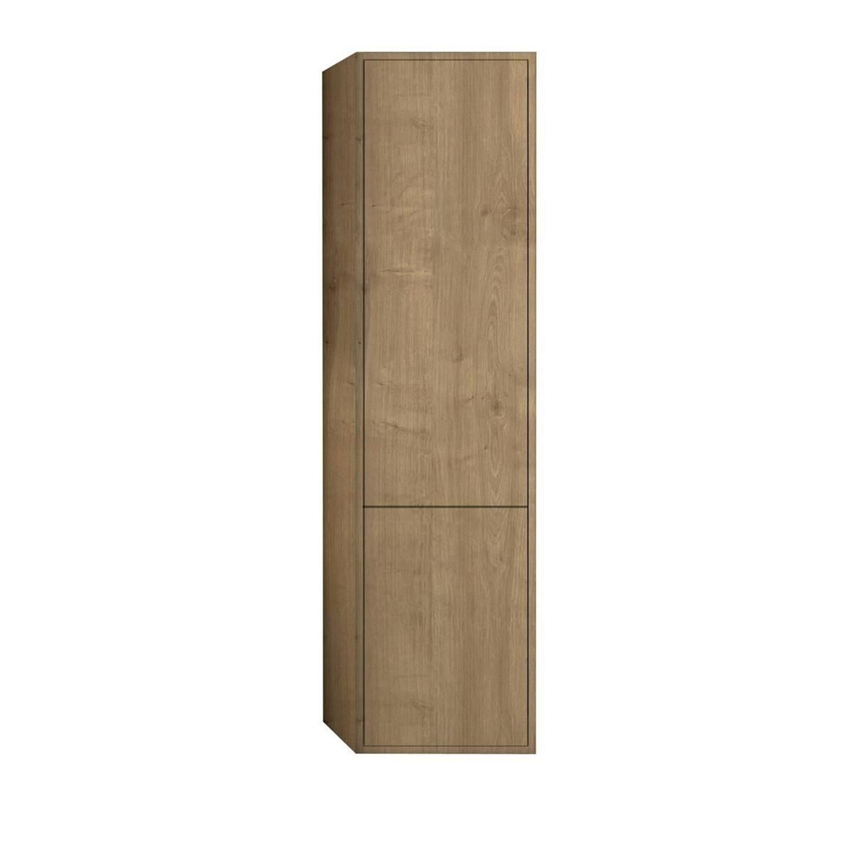 Kolomkast Allibert Marny met Linnenkorf 40x156x35 cm Eik Arlington Allibert