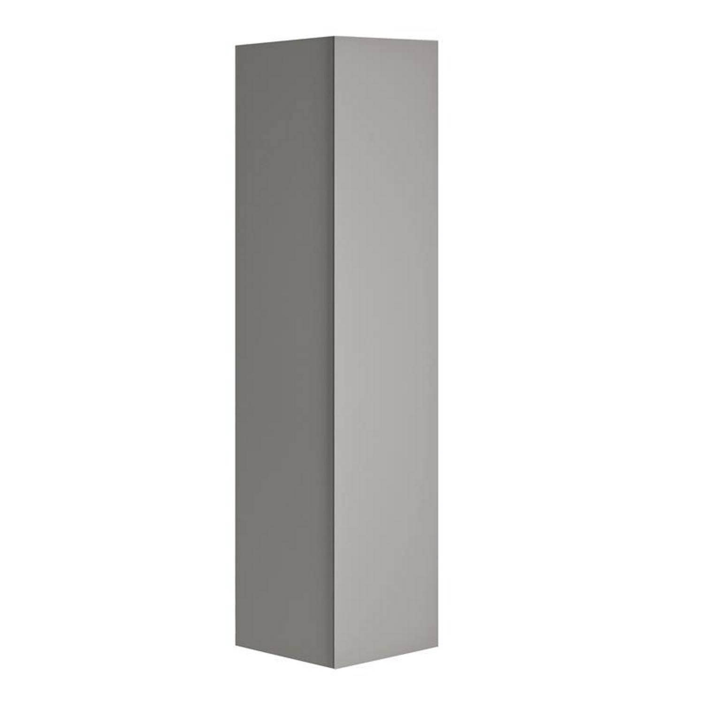 badkamer kolomkast Allibert Nordik 41,5x156x37 cm Ultra Mat grijs Allibert