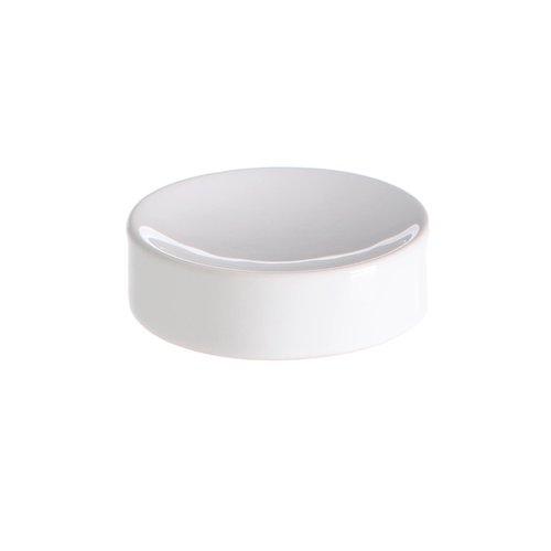 Zeephouder Vrijstaand Allibert Oops 10,5x3 cm Porselein Glanzend Wit
