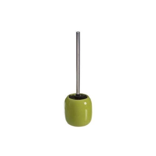 Toiletborstelhouder Vrijstaand Allibert Oops 11,5x38x11,5 cm Porselein Glanzend Groen