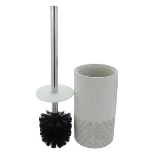 Toiletborstelhouder Differnz Sand 37x10x10 Mat Grijs