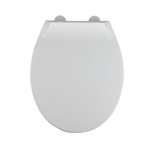 Toiletzitting Allibert Mila Afklikbaar 37,2x5,2x45 cm Soft-Close Kunststof Wit