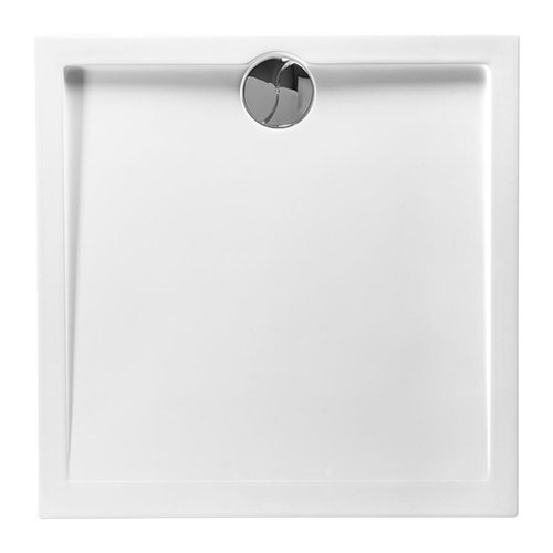 Douchebak Allibert Slim Vierkant 80x80x4 cm Wit