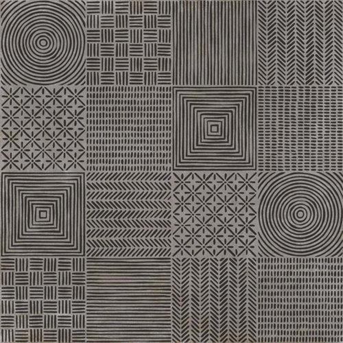 Vloertegel Arcana Marles Niquel 60x60 cm Donker Grijs Prijs P/m2