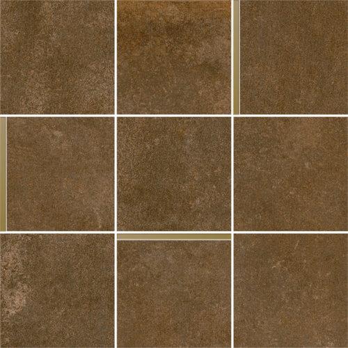 Mozaiek Arcana Avelin Cobre 30x30 cm Bruin met Goud Detail Prijs P/m2