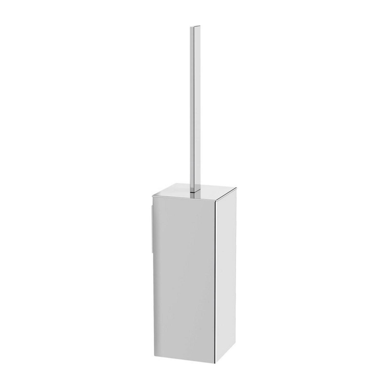 Toiletborstelhouder Sapho Quella Hangend Vierkant 40x8x8 cm Chroom