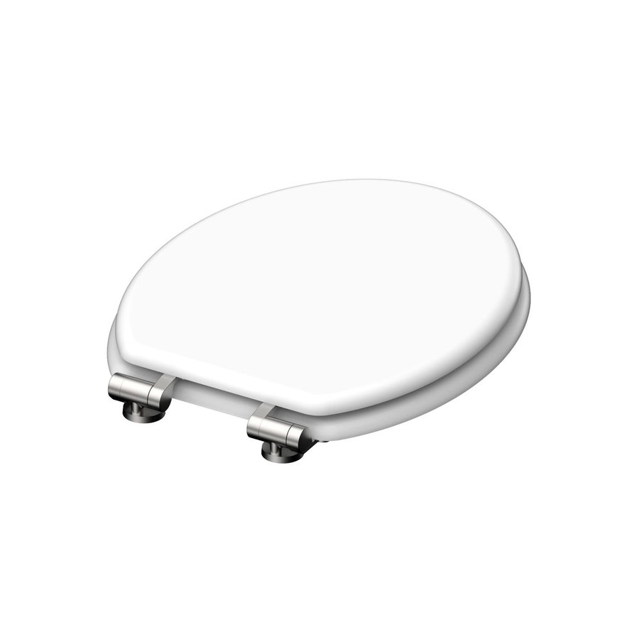 Toiletzitting Schutte Spirit White Met Soft Close MDF Mat Wit