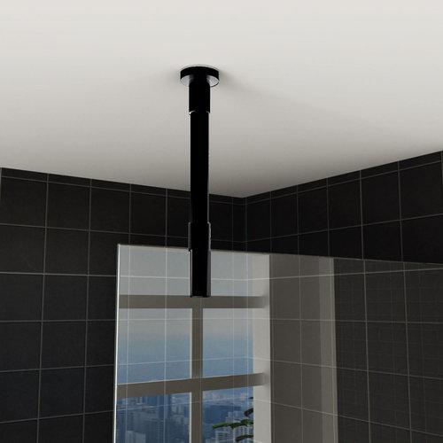 Plafond Stabilisatiestang AQS Inkortbaar Rond 100cm Mat Zwart