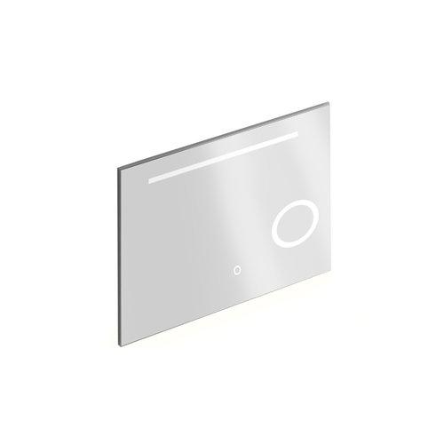 Badkamerspiegel met Verlichting Xenz Desenzano 100x70 cm met Spiegelverwarming en Scheerspiegel