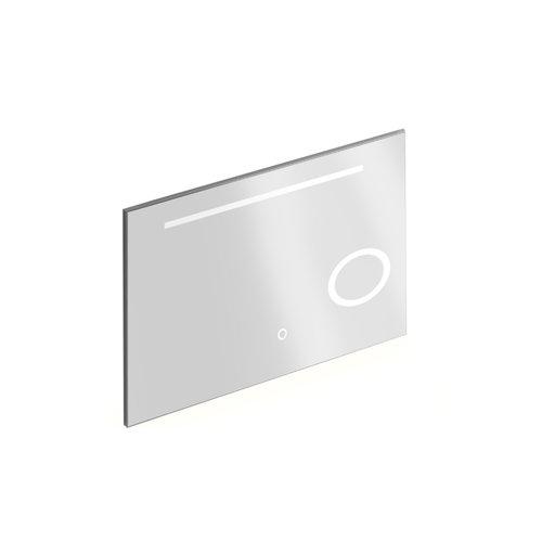 Badkamerspiegel met Verlichting Xenz Desenzano 120x70 cm met Spiegelverwarming en Scheerspiegel