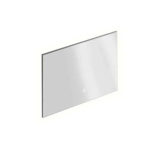 Badkamerspiegel Xenz Peschiera 100x70 cm Verlichting Rondom en Spiegelverwarming