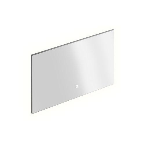Badkamerspiegel Xenz Peschiera 120x70 cm Verlichting Rondom en Spiegelverwarming