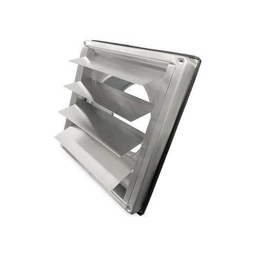 Overdrukrooster BWS Ventilatie Aansluitmaat Ø 125mm RVS