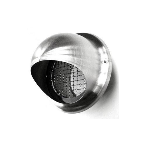 Bolrooster BWS Ventilatie Aansluitmaat Ø 125 mm Grofmazig Gaas Met Hoge Doorlaat RVS
