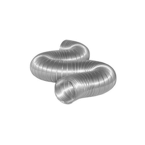 Semi-Flexibele Slang Ø 180mm 3 Meter Lang Aluminium