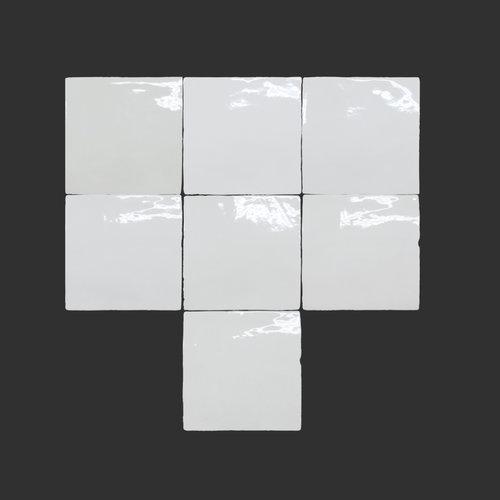 Wandtegel Grafti Artisan Snow Brillo 13x13 cm Prijs P/m2