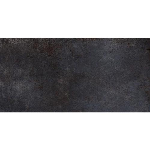 Vloertegel Flatiron Black 30x60 cm Mat Zwart Prijs P/m2