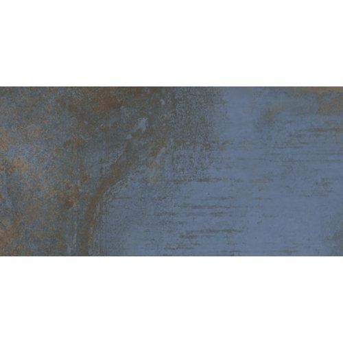 Vloertegel Flatiron Blue 30x60 cm Mat Blauw Prijs P/m2