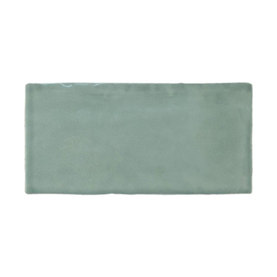 Wandtegel Atlas Jade Brillo 7.5x15 cm Glans Groen Prijs P/m2
