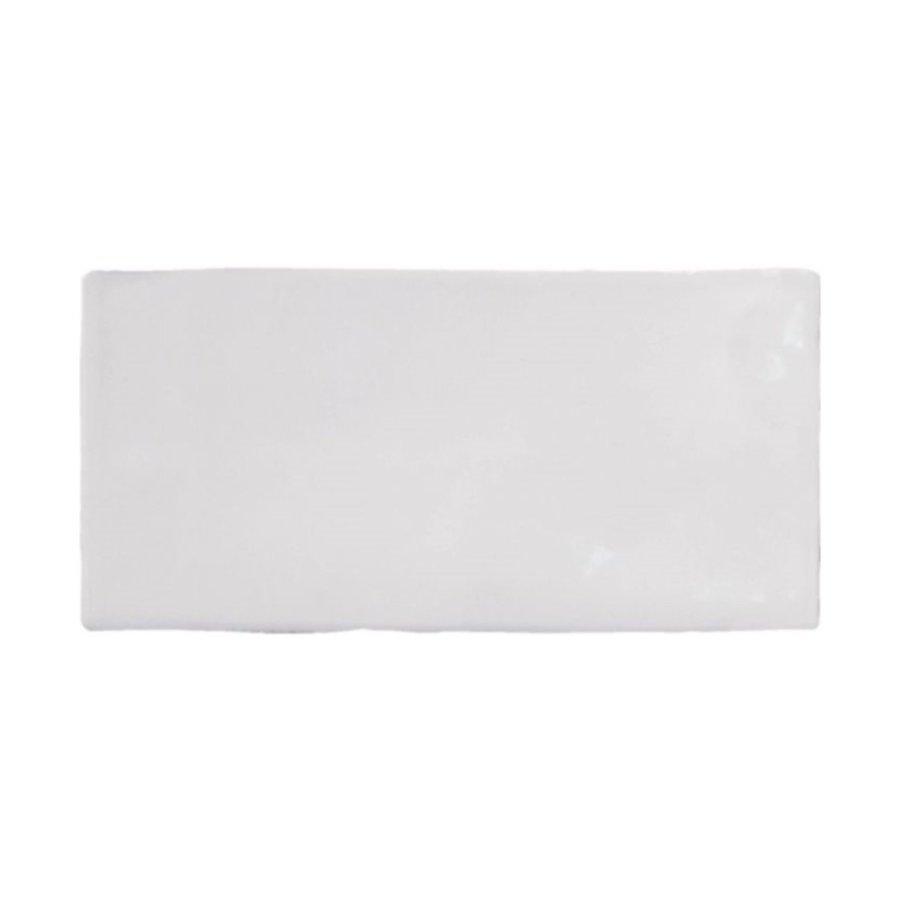 Wandtegel Atlas Pearle Brillo 7.5x15 cm Glans Grijs Prijs P/m2