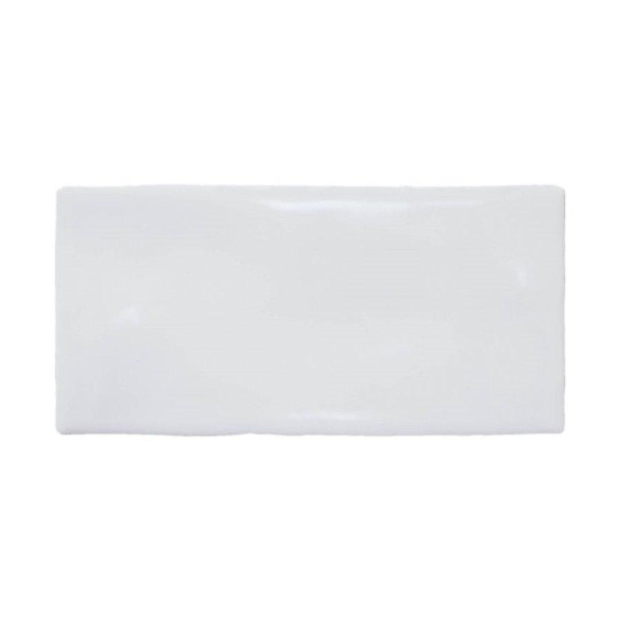 Wandtegel Atlas White Brillo 7.5x15 cm Glans Wit Prijs P/m2