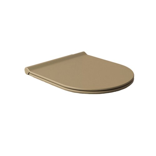 Toiletzitting Salenzi Form Slim Mat Taupe
