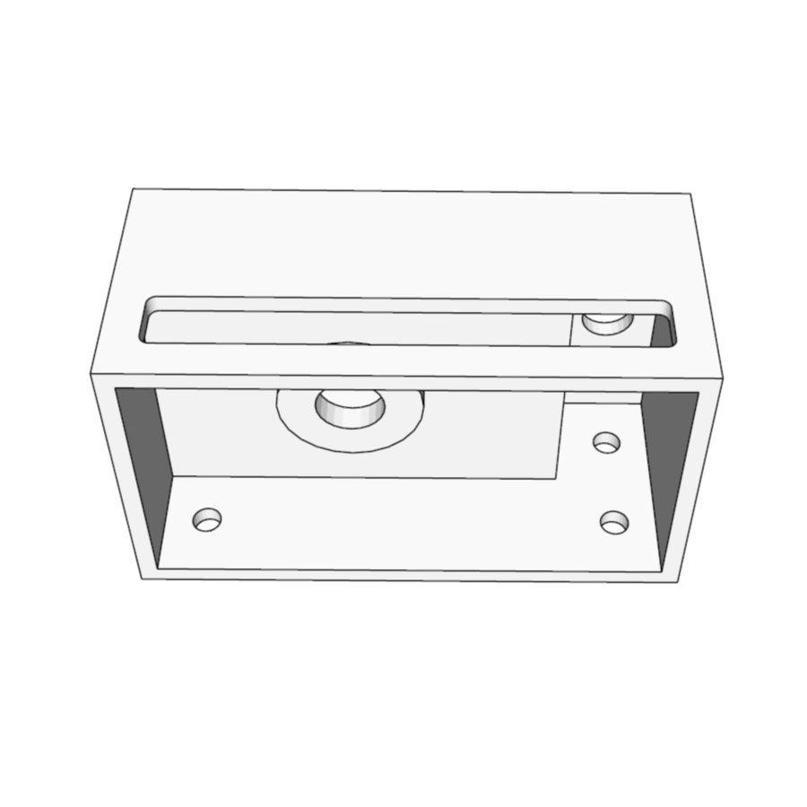 Fontein met Handdoekhouder AQS 35.6x20.3x15.9 cm Mat Zwart