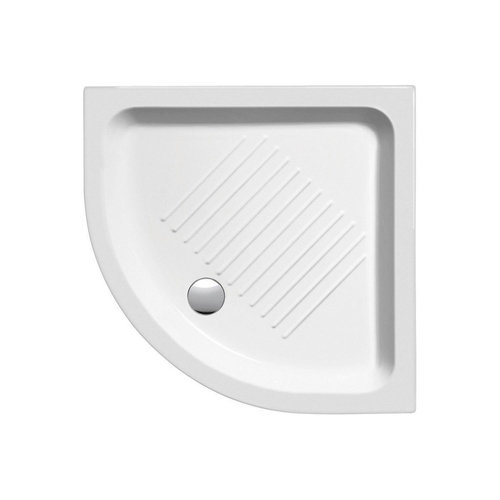 Douchebak Keramiek Sapho Ceramic Shower Trays 90x90x12 cm Kwartrond Wit