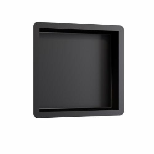 Inbouwnis Brauer Box Met Flens 30x30cm Zwart