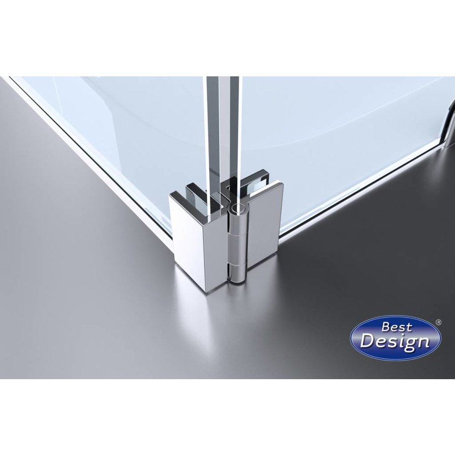 Erico Klikzijwand 40X200 Cm Nano Glas 8 Mm