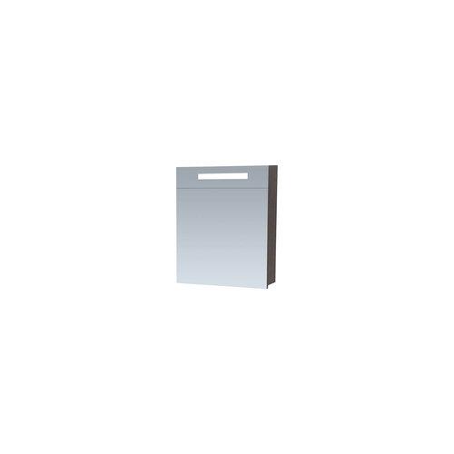 Spiegelkast 2.0 Exclusive Line 60cm Linksdraaiend Black Diamond